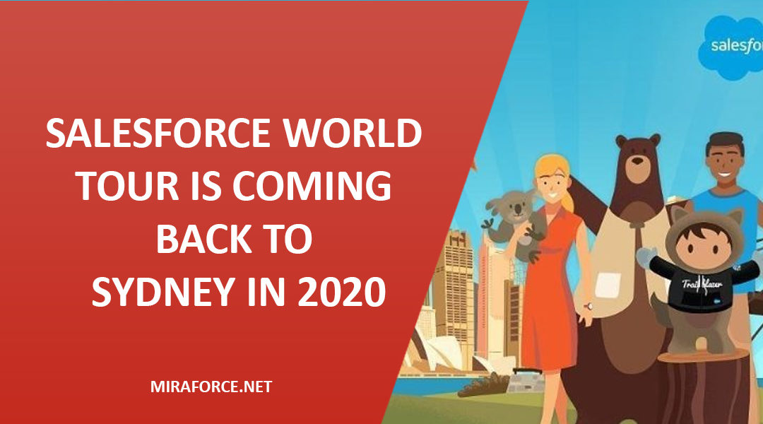 Salesforce World Tour is coming back to Sydney in 2020