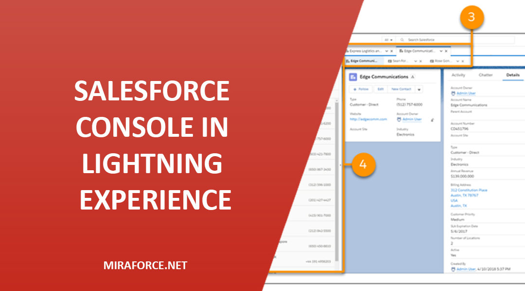 Salesforce Console in Lightning Experience