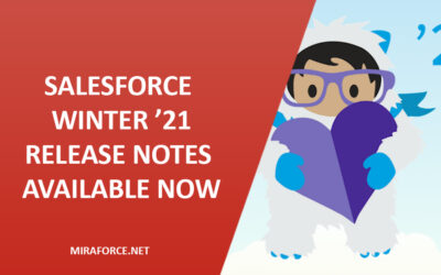 Salesforce Winter '21 – Release notes available now