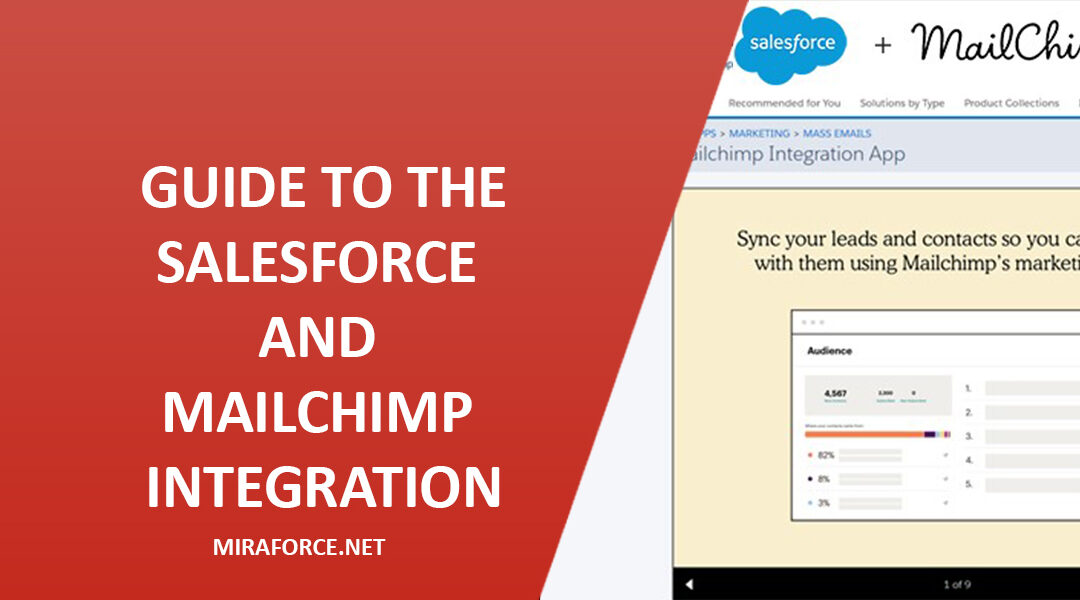 Guide to the Salesforce and MailChimp Integration