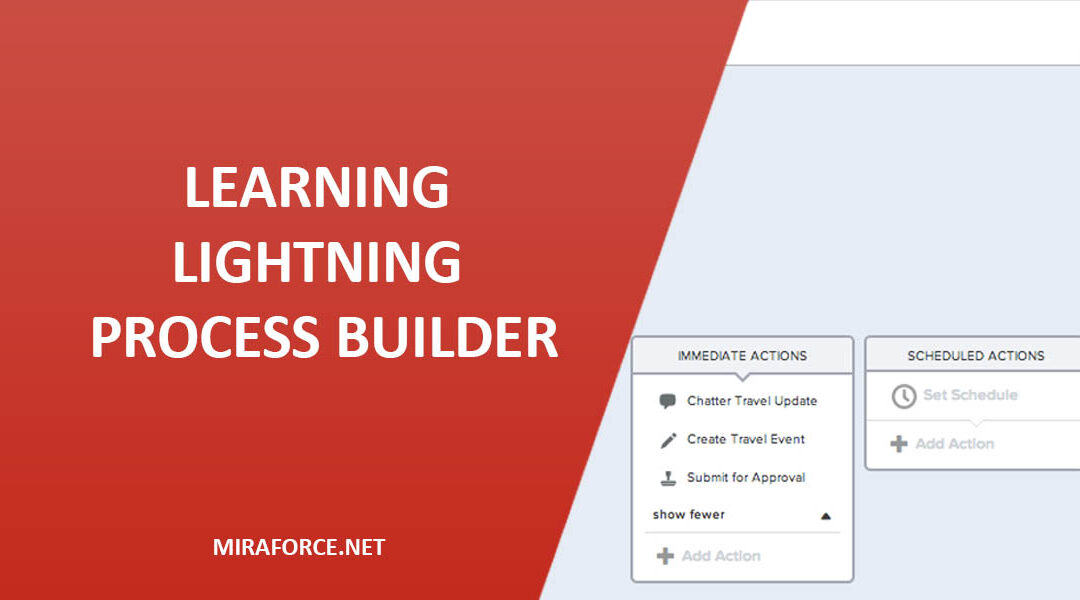 Learning Lightning Process Builder