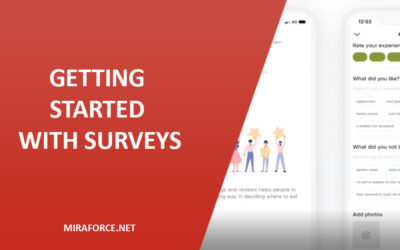Getting started with Surveys